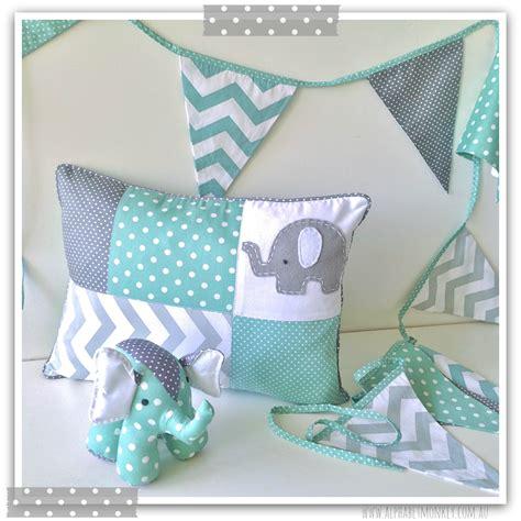 mint  grey elephant nursery range  alphabet monkey