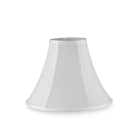l shades bed bath and beyond mix match small 11 inch bell l shade in white bed