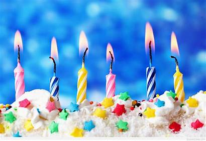 Birthday Happy Wallpapers Candles Lights