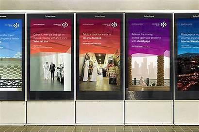 Bank Commercial Qatar Advertising Digital Cbq Industry