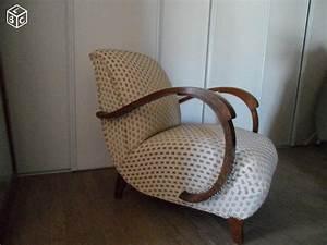 Tissu Pour Recouvrir Canapé : fauteuil art deco fauteuils tissus petits meubles ~ Premium-room.com Idées de Décoration