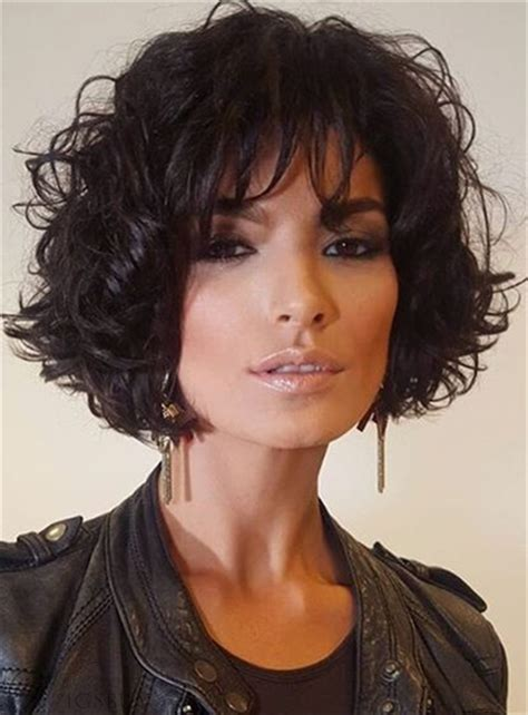 cheap short loose pixie hairstyle soft synthetic hair jerry curly lace front cap women wigs