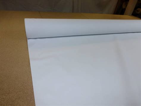 Thermal Drapery Lining Fabric - white 54 quot wide thermal blackout curtain lining fabric 3