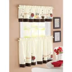 Walmart Kitchen Curtains Swag by Selection Of Kitchen Curtains For Modern Home Decoration