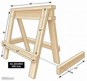 how to build a sawhorse with 2×4 – woodguides