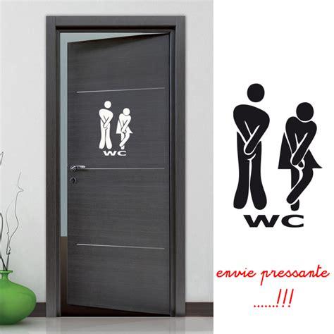 stickers pour les toilettes stickers autocollant pour la porte des wc toilettes d 233 co de la maison destock stickers