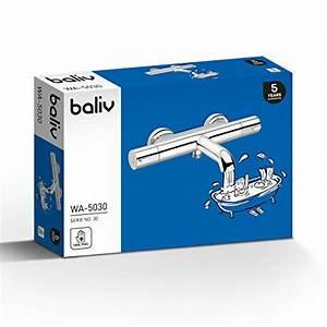 Badewannenarmatur Mit Thermostat : baliv wa 5030 wannenarmatur verchromt badewannenarmatur mit thermostat und verbr hschutz f r ~ A.2002-acura-tl-radio.info Haus und Dekorationen
