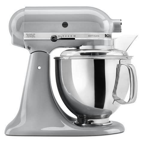 mixer artisan stand chrome metallic kitchenaid quart series kitchen aid qt food mixers colors blender outlet shower mixing