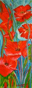 1000 ideas about peinture coquelicot on pinterest for Toile murale a peindre