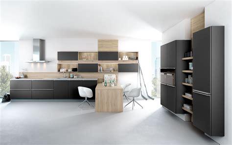 modern matt black kitchen  wood black rok kitchen