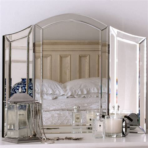 glass dressing table mirror  decorative mirrors