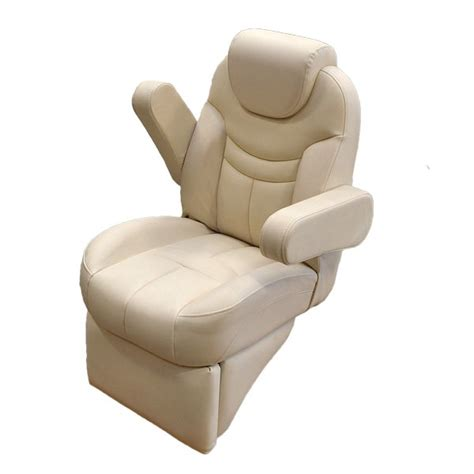 used pontoon captains chair harbor white reclining pontoon boat captains