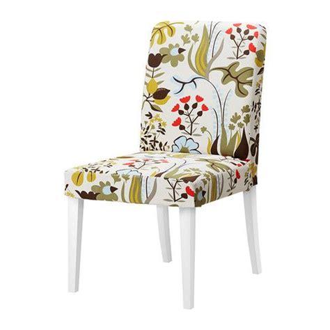 housse de chaises ikea henriksdal chair blomstermåla multicolor ikea