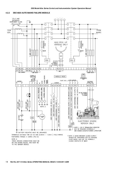 dse 6010 20 manual operation