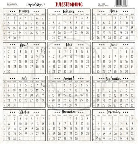 norsk kalender  norsk