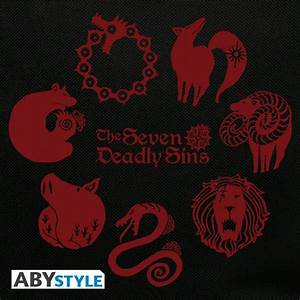 THE SEVEN DEADLY SINS Sac Dos Emblmes ABYstyle