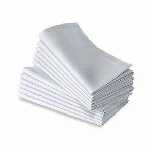 Nappe Blanche Tissu : location serviette blanche tissu rvl r ception ~ Teatrodelosmanantiales.com Idées de Décoration