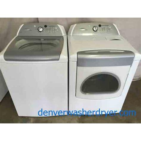 whirlpool he washer high efficiency whirlpool cabrio washer dryer matching set