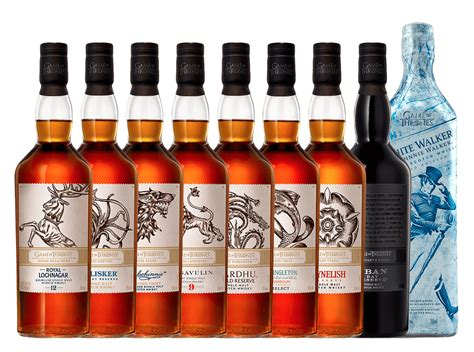 game  thrones full whisky set   shipping