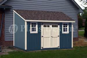 8x12 Shed Plans Free by 8 X 14 Backyard Deluxe Storage Shed Plans Lean To Roof