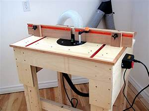 Router Table Plans : Free Woodworking Plans