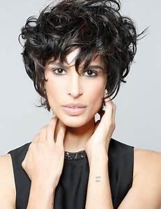 Coupe Courte Bouclée : coupe courte femme 2019 oser un mod le de coiffure ~ Farleysfitness.com Idées de Décoration