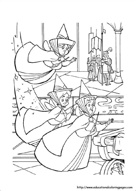 sleeping beauty coloring pages   kids