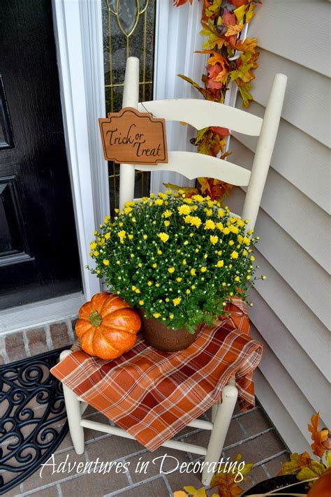 Ideas For Fall Front Porch by Adventures In Decorating Our Fall Front Porch