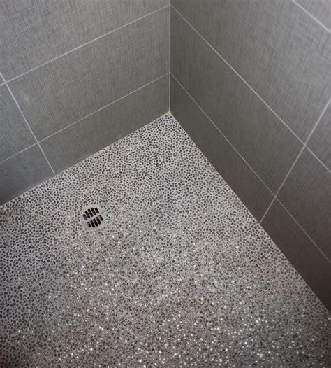 ceramic tile shower floor reversadermcream shower floor idea gray mosaic tile bath remodel