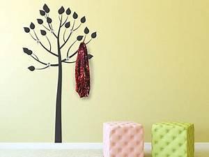 Baum Als Garderobe : wandtattoo garderoben moderne wandgarderoben ~ Buech-reservation.com Haus und Dekorationen