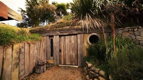 homes built into hillside grid hobbit like cave home built into a hillside