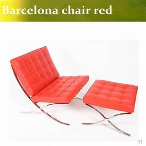 U best high quality barcelona chair with ottomanbarcelona for Barcelona sectional sofa ottoman