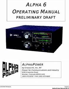 Rf Concepts Pa06 User Manual Preliminary