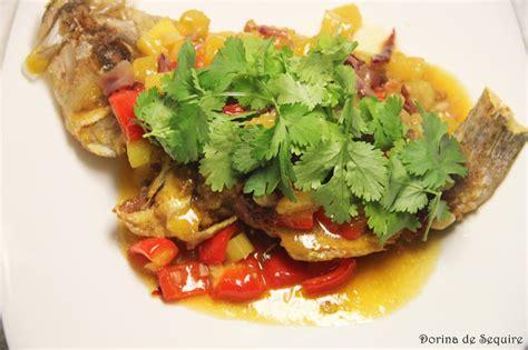 grouper fried deep sauce dorina delight