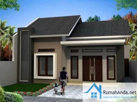 gambar desain rumah minimalis  lantai budget  juta