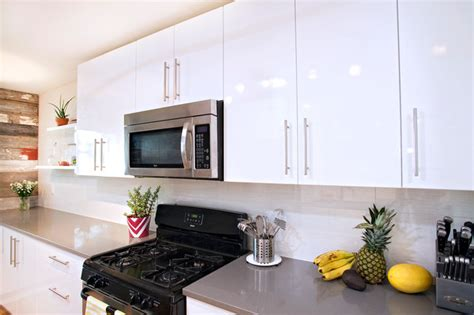 thermal foil kitchen cabinets contemporary white high gloss foil kitchen cabinets