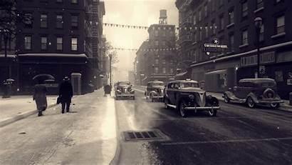 Mafia Classic Cars Rain Street Snow Games