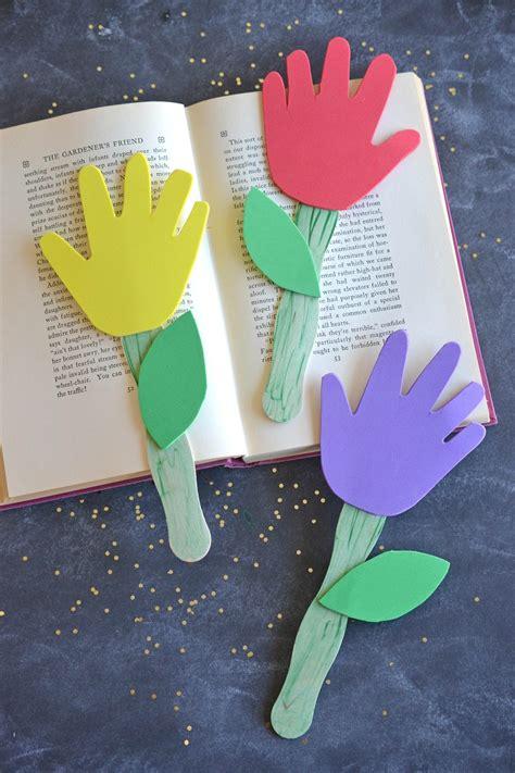 ways  making handprint flowers guide patterns