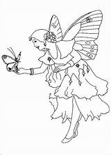Coloring Pages Fairies Princess Fairy Fantasy Disney Butterfly Printable Children Tinkerbell Getcolorings Boys sketch template