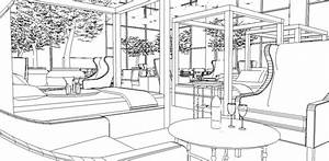 a schematic life colouring book sky lounge With interior design coloring books