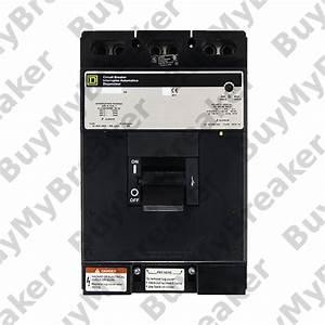 Square D Lip36350 3 Pole 350 Amp 600v Circuit Breaker