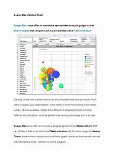 google docs motion chart chart With google docs spreadsheet percentage