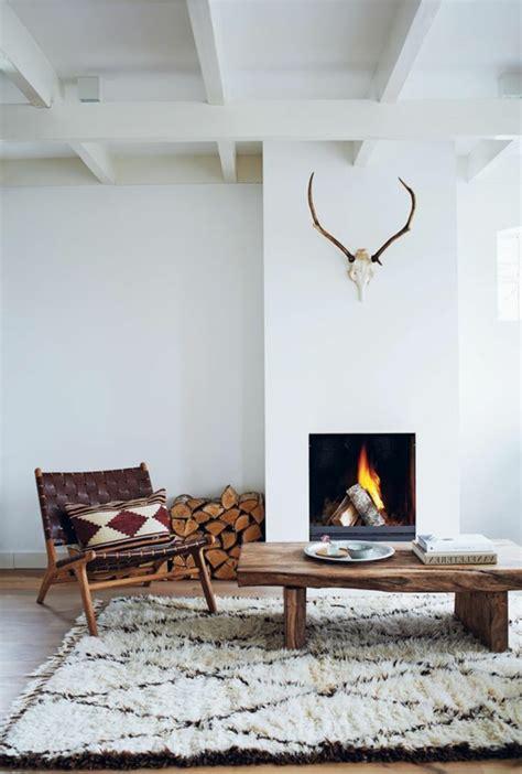 Offene Feuerstelle Wohnzimmer  Wohndesign Und