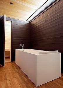 Store Salle De Bain : le lambris comme rev tement mural de salle de bain marie ~ Edinachiropracticcenter.com Idées de Décoration