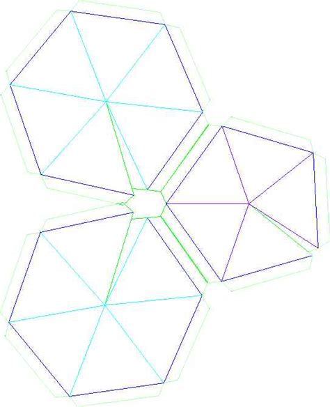 Geodesic Dome Template by Build A Thin Skin Geodesic