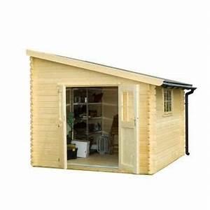 abri de jardin bois 97 m2 adossable 28 mm achat With abris de jardin adossable