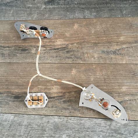 Fender Jaguar Wiring Harnes by Vintage Spec Fender Jaguar 1962 Style Wiring Harness Reverb