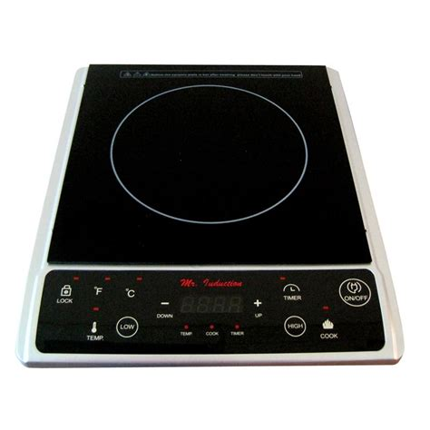 portable induction stove cooktop touch operated