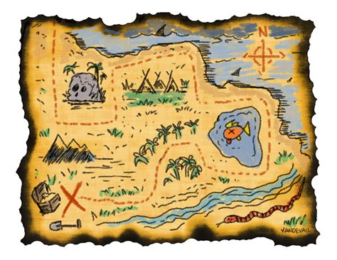 treasure map  tims printables