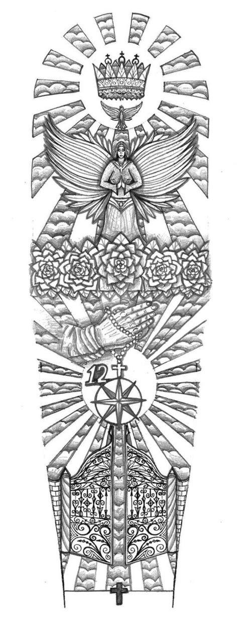 Religious Gates of Heaven tattoo design by thehoundofulster on DeviantArt | Religious | Heaven